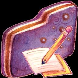 Note Violet Folder