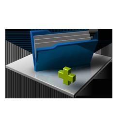 Blue Folder Full Add
