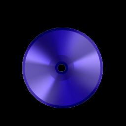 Disk DVD Blue