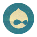 Retro Drupal Rounded