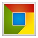 Chrome square-128