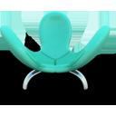 Cyan Eared Seat-128