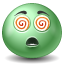 Hypnotized emoticon Icon