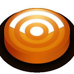 Rss orange circle