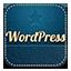 Wordpress retro icon