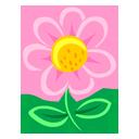 Pink Flower-128