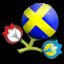Euro 2012 Sweden Icon