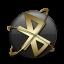 Bluetooth Gold Icon
