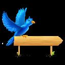 Bird sign sparkles-128