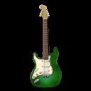 Stratocastor Guitar Green-128