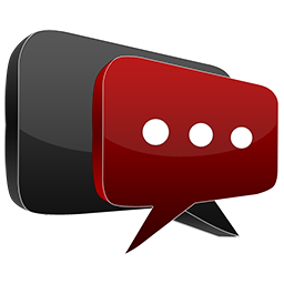3D chat red