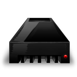Hdd black red