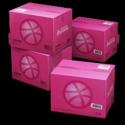 Dribbble Shipping Box