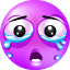Cry purple Icon