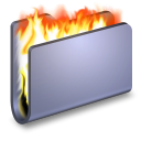 Burn Blue Folder-128
