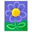 Blue Flower-64