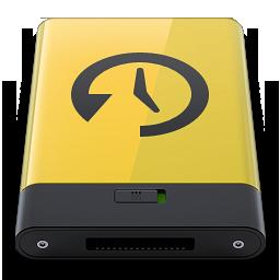 HDD Yellow Time Machine