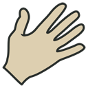 Hand vintage-128