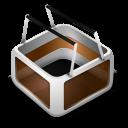 Cart orange-128