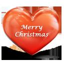 Heart Merry Christmas