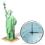 Statue of Liberty Clock icon