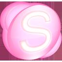 Skype pink-128