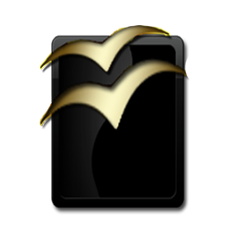 OpenOffice Black and Gold