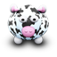 White Cow Black Spots icon