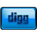 Digg blue rectangle