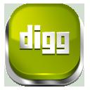 Digg green button