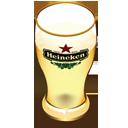 Heineken beer glass-128