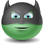 Batman emoticon icon