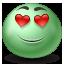 Inlove emoticon Icon