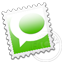 Grey Technorati stamp Icon