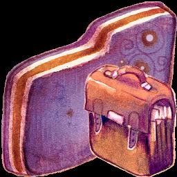 Bag Violet Folder