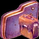 Bag Violet Folder-128