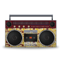 Boombox Retropeach-128