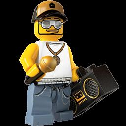 Lego Rapper