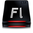 Adobe Flash CS4 Black-128