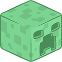 3D Creeper Minecraft-128