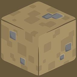 3D Dirt Minecraft