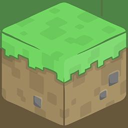 3D Grass Minecraft