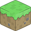 3D Grass Minecraft icon