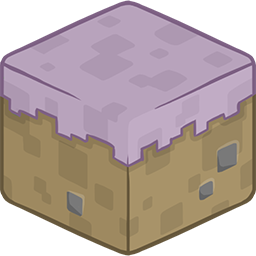 3D Mycelium Minecraft