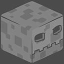 3D Skeleton Minecraft-128