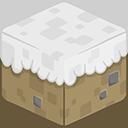 3D Snow Minecraft-128