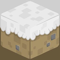 3D Snow Minecraft