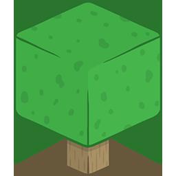 3D Tree Minecraft