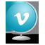 Vimeo Globe icon