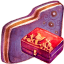 Personal Storage Violet Folder icon